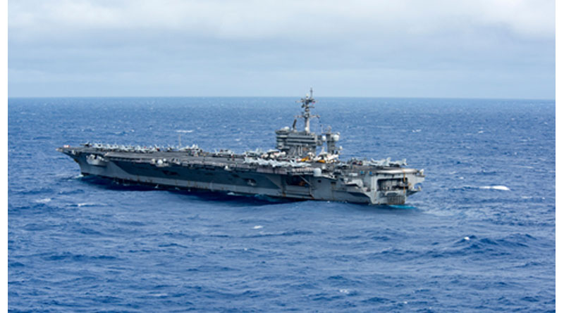 China Military Says Aware of US Carrier in South China Sea