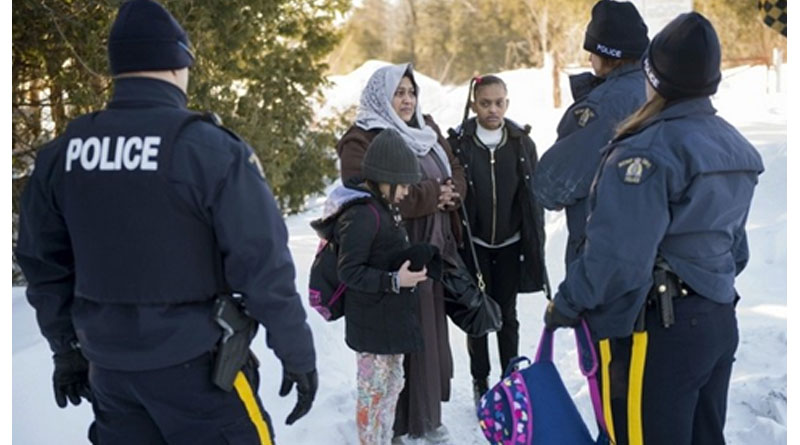 Almost Half of Canadians Want Illegal Border Crossers Deported