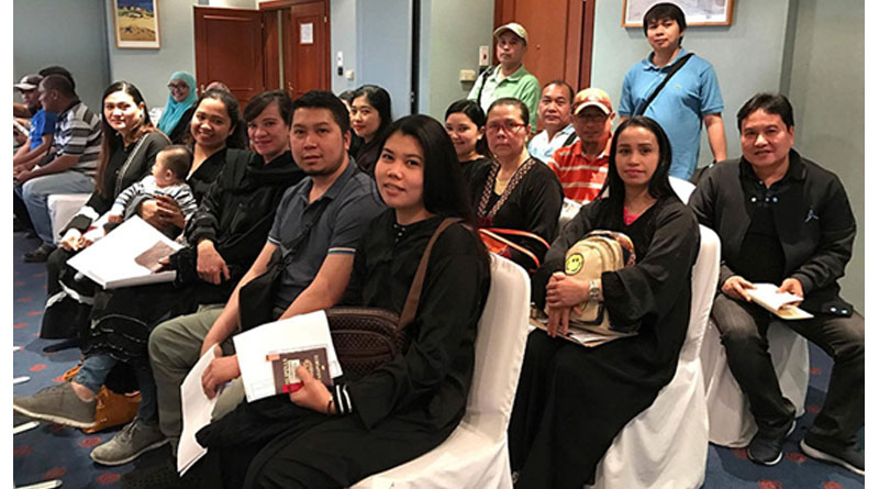 Philippine Embassy Outreach Extends 252 Consular Services in Hafr Al Batin