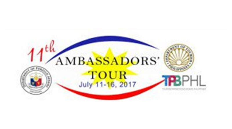 Sign Ups Start for 11th Ambassadors' Tour of PH '17