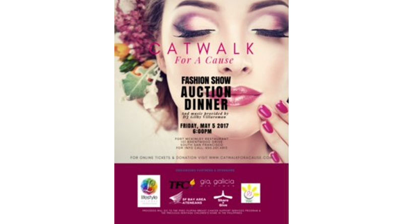 'Catwalk for a Cause' Benefit Fashion Show-Auction Set for May 5