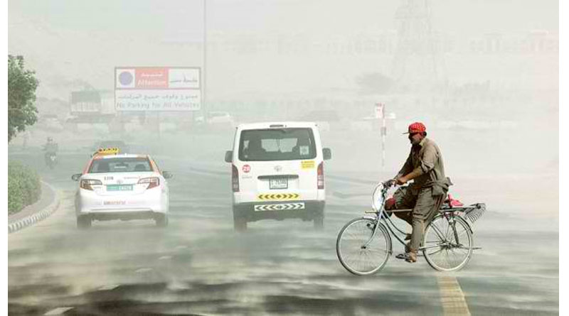 Hot Sticky Weather Ahead for UAE