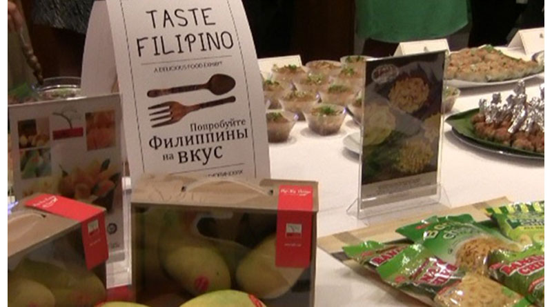 PH Products Showcased in Moscow Food Exhibit