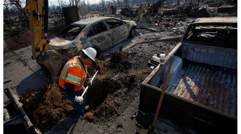 Filipino Among Dozens Killed in California Wildfires