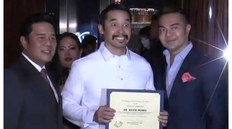 Fil-Am Doctor Honored for Saving Lives in Vegas Shooting