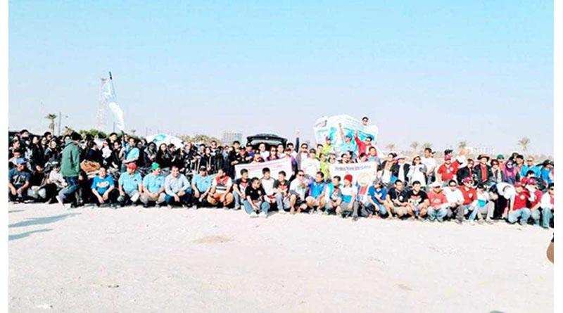 Filipinos Launch Beach Clean Up Campaign in Khobar